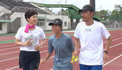 長谷川颯さん(パラリンピック1500m出場目標ランナー)のトレーニングと経歴(高校)