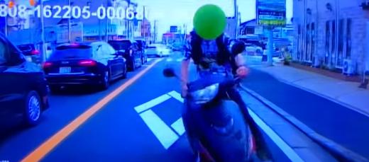 ウーバーイーツ事故動画ニュース:船橋市!当て逃げの対応の責任は誰?