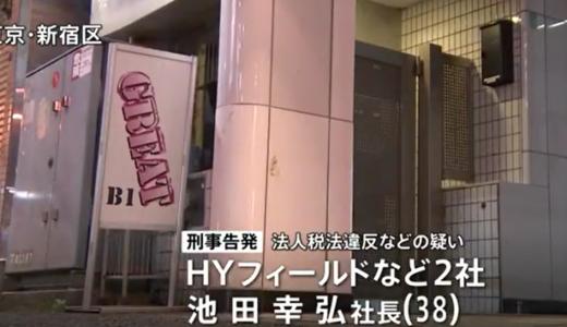 池田幸弘=新宿2丁目のボス!Facebook顔画像とゲイバーどこ?