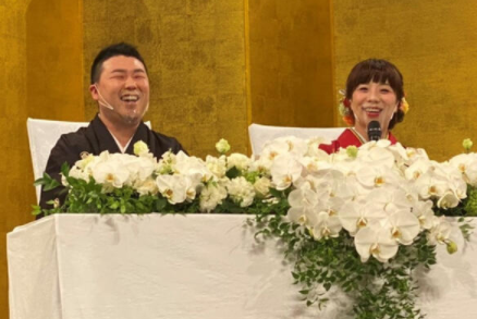 【清水啓之】森田まりこと結婚!馴れ初めと病気とは?